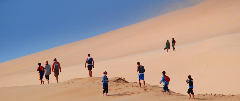 Cabo Polonio dunes
